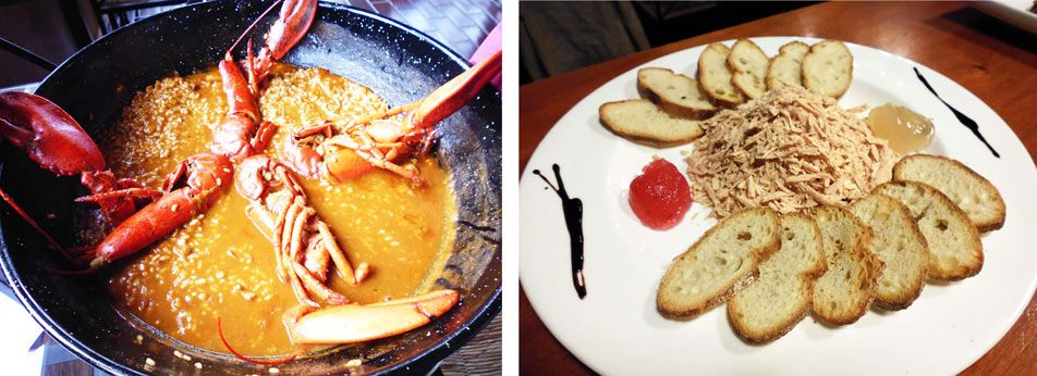 Restaurant_PortMassaluca_Ebro_lobster_VirutasFoie