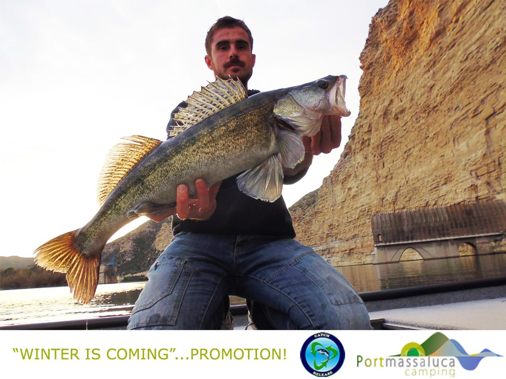 Fishing promotion 2017 winter spain ebor