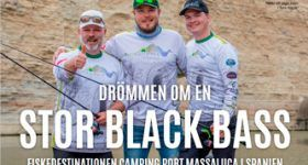 Sweden magazine for Black bass fishing documentary on ebro river