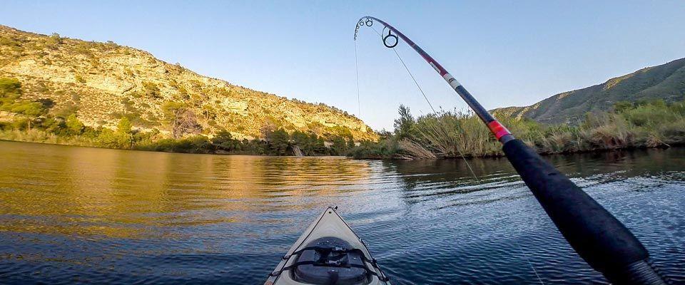 kayak fishing rental available in the camping portmassaluca instalations