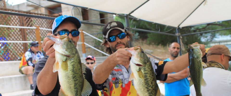 blackbass fishing competition on the camping portmassaluca  instalations