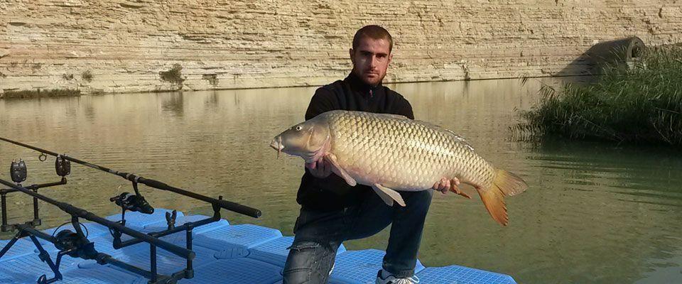 Carpfishing on the Ebro river